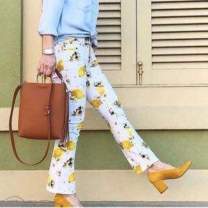 Pilcro Lemon Grove High-Rise Cropped Bootcut Jeans